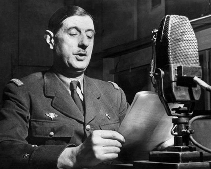 Discurso Charles de Gaulle