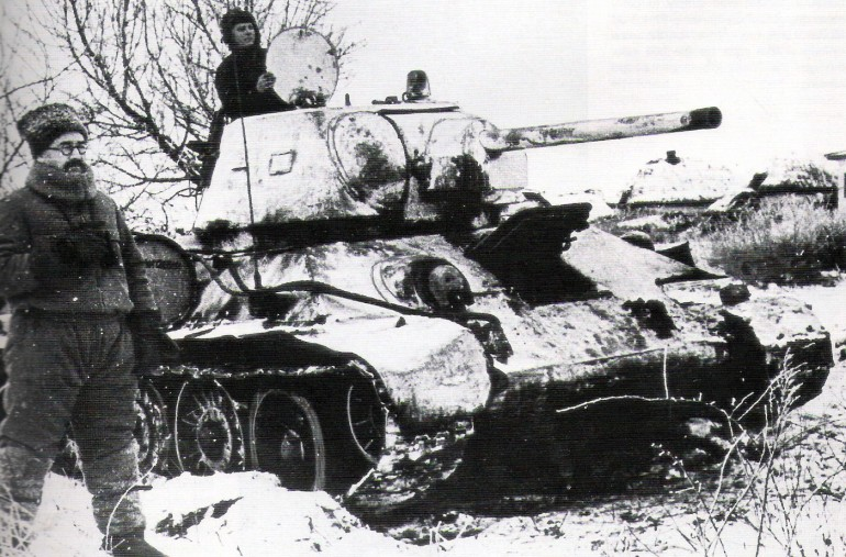 T-34 Tanque Ruso